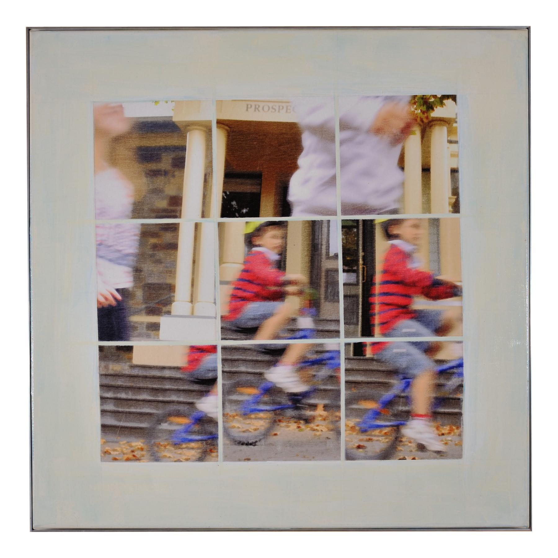 Prospect #2 - mixed media on canvas 90cm x 90cm 2013