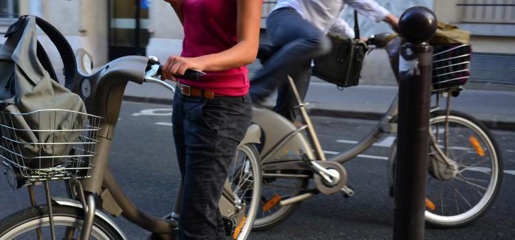 les vélos qui sont Paris